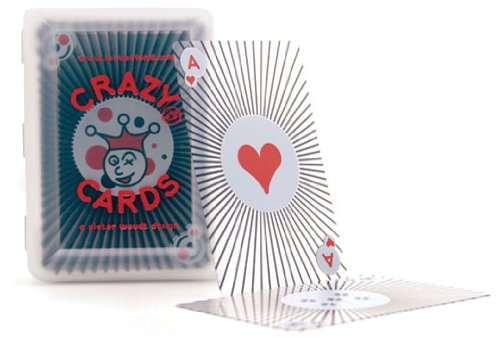 Kikkerland Crazy Invisible Playing Cards