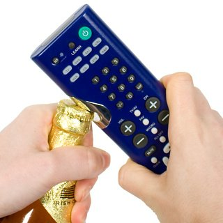 Clicker - 2 in 1 TV Remote and Bottle Opener